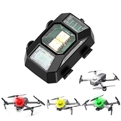 TOMAT Drone Strobe Lights FAA Anti-Collision Lighting Light Night Flight Lights with 4 Colors for DJI Air 2S/Mini 2/Mavic Air 2/Mavic Mini/Mavic Pro/FPV/Holy Stone Drone Quadcopters Accessories