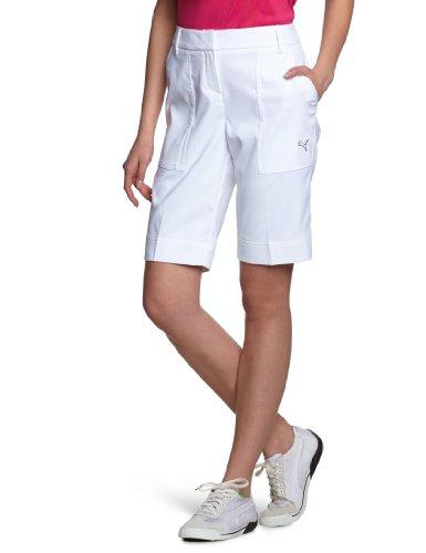 PUMA Short Golf Femme Tech Blanc XS Blanc - Blanc