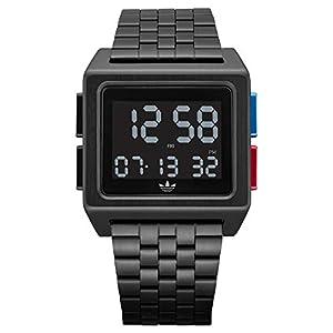 Adidas by Nixon Reloj Hombre de módulo Digital con Correa en Acero Inoxidable Z01-3042-00