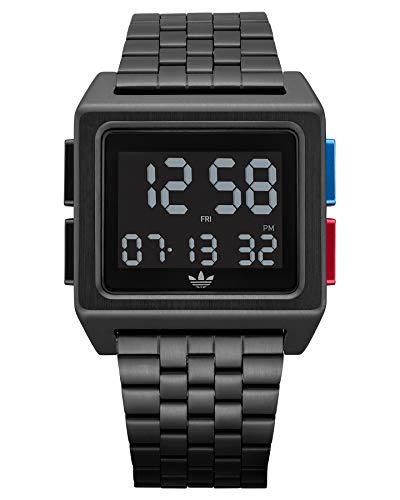 Adidas by Nixon Herren Digital Digitalmodul Uhr mit Edelstahl Armband Z01-3042-00
