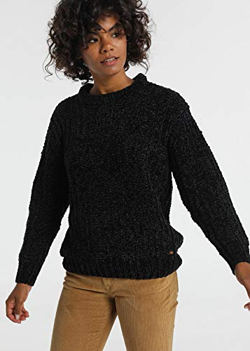 LOIS JEANS - Jersey para Mujer   Jersey Tricotosa Chenilla   algodón   Tallaje en Pulgadas   Talla Inch - XL