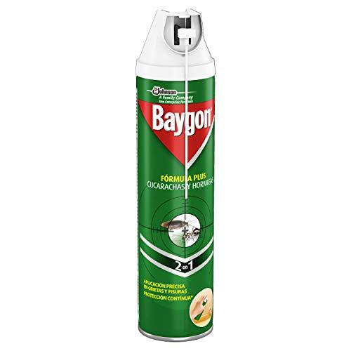 BAYGON insecticida anticucarachas y hormigas spray 400 ml