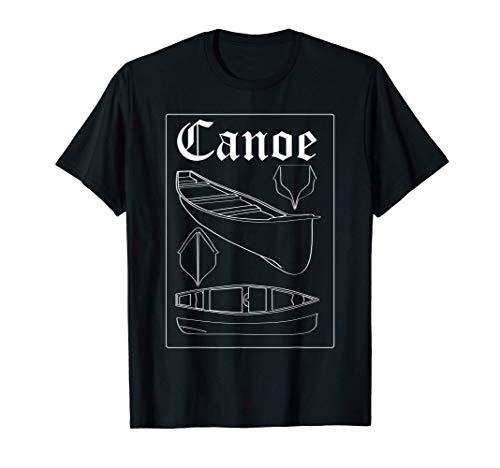 Canoe - Canoeing River Kayak Rafting T-Shirt