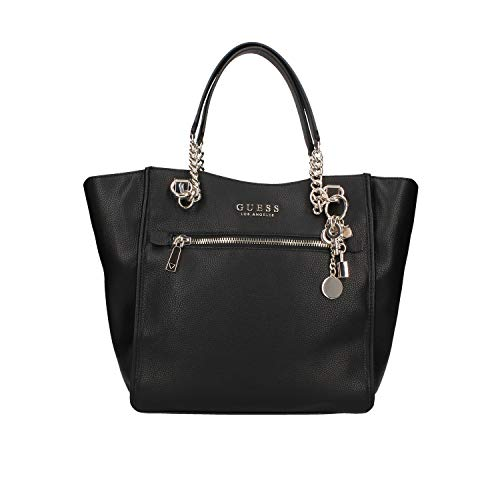 GUESS womens Carryall, Carryall Shoulder Bag, Black, One Size US