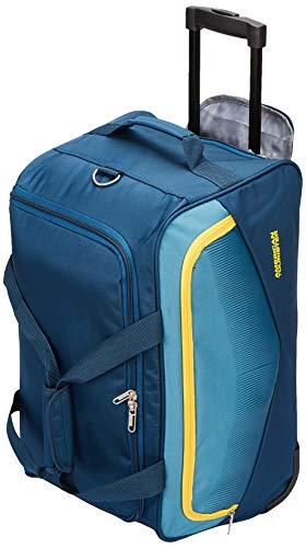 American Tourister Ohio Polyester 55 cms Blue Travel Duffle (FJ9 (0) 01 001)