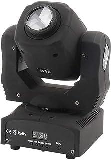 sahadsbv DJ Disco Spot Moving Head Light 90W RGBW Stage Lights pour Party Stage Lights Restaurant Live Concert Lighting (T...