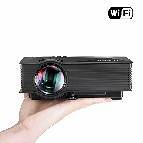 Mini Proiettore WiFi Portatile, Hizek Videoproiettore...