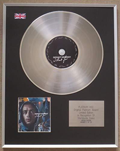 Century Music Awards - DERMOT KENNEDY - Limitierte Auflage CD Platin Disc - OHNE FORST!