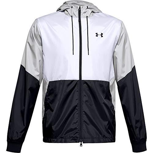 Under Armour Men's Field House Jacket , White (100)/Black , Large