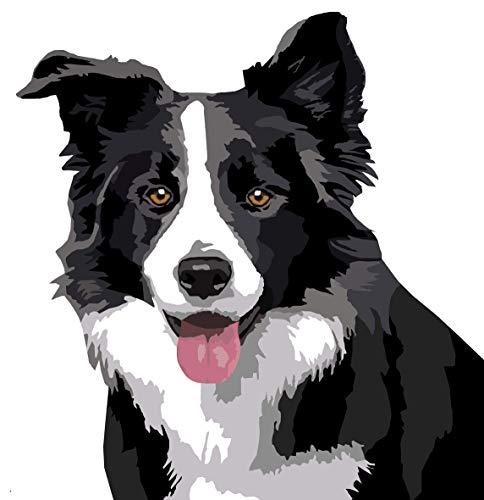 AJleil Puzzle 1000 Piezas Dibujos Animados Dibujo Animales Perro Arte Puzzle 1000 Piezas Rompecabezas de Juguete de descompresión Intelectual Educativo Divertido Juego Familiar para50x75cm(20x30inch)