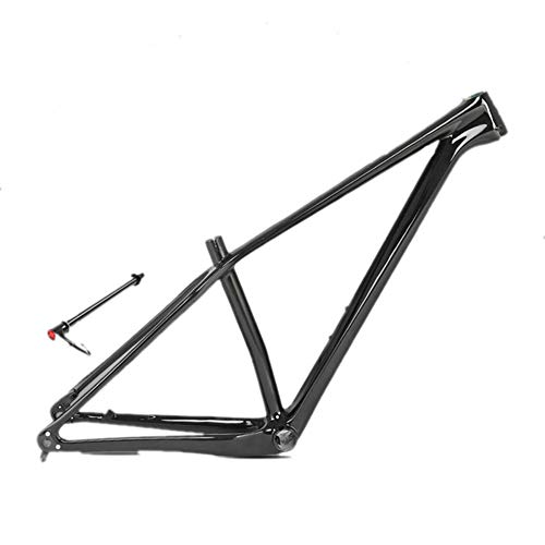 MAIKONG 18 k Carbon Fiber Mountainbike Frame Ultralight 27.5''/29'' MTB Mat Zwart Unibody interne kabel Routing