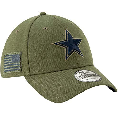 New Era 39Thirty Cap - Salute to Service Dallas Cowboys L/XL