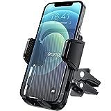 Amazon Brand - Eono Supporto Cellulare Auto, Portacellulare per Bocchette di Ventilazione, Porta Smartphone Telefono Girevole a 360°, Compatibile con iPhone 13, 12, Samsung, Huawei, Xiaomi e Altro