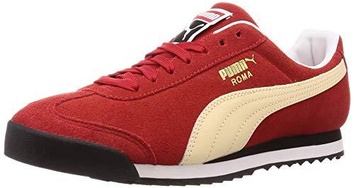 Puma Roma Suede Sneaker Unisex-Erwachsene, Rot (High Risk Red-Summer Melon 13), 5 (38 EU) EU