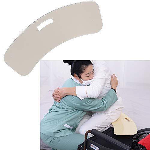 GHzzY Tabla de Transferencia - Tabla de Transferencia Curva para Silla de Ruedas, Cama y automóvil - Tabla Deslizante de Transferencia de Asiento Giratorio para Personas Mayores o discapacitadas