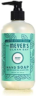Mrs. Meyer's Clean Day Mint Hand Soap, 12.5 Fluid Ounce