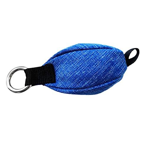 Sharplace Wurfbeutel 250g Wurfsack Klettern Baumpfleger Ausrüstung - Blau