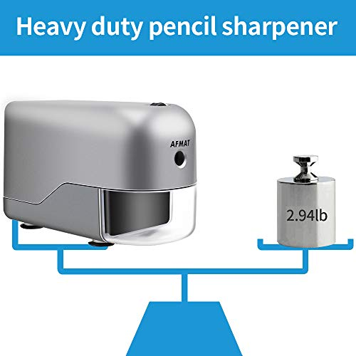 Electric Pencil Sharpener Heavy Duty, Electric Pencil Sharpener for Colored Pencils, Pencil Sharpener for Large Pencils, Artist Pencil Sharpener, Large Hole Pencil Sharpener for 8-12mm Width Pencils Photo #6