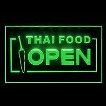 110228 Thai Food Thailand Restaurant Display LED Light Sign