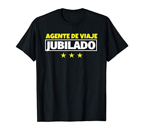Agente de viaje Jubilado Regalo Camiseta