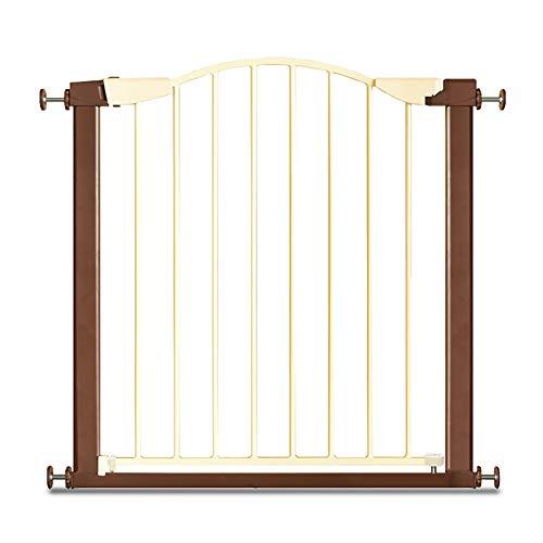Puerta De Beb/é con Puerta para Mascotas Puerta De Beb/é Retr/áctil Seguridad para Beb/és Parque para Ni/ños Puerta De La Puerta De La Barrera Puerta De La Escalera Tama/ño : 75-84cm