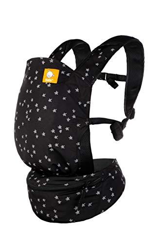Tula Mochila Portabebé Ultraligera Lite Discover De Tres Posiciones, Para Bebés De 5,4 A 13,6 Kg. Color Negro