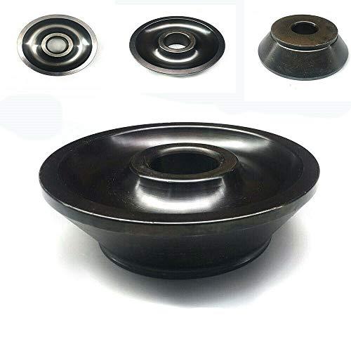DOMINTY 4# Konus Zentrierkonus, Welle Ø 36 mm Konensatz für Wuchtmaschine der meisten Auto Pkw und Kleinlaster Reifen Montage 94-137mm für Felgen Räder aus Aluminium, Stahl oder Leichtmetall
