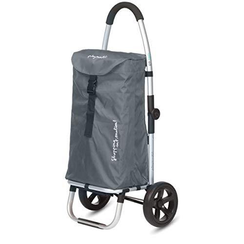 Einkaufstrolley Playmarket Go Two Compact Gris Marengo
