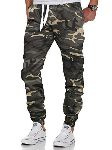AitosuLa Herren Jogginghose Baumwolle Freizeithose Sport Slim Fit Trainingshose Sweatpants Jogger Pants (Z-Grau, XX-Large)