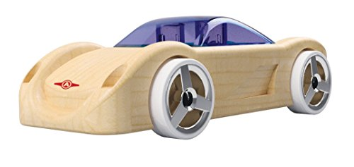 Automoblox Collectible Wood Toy Cars and Trucks—Mini C16 Sidewinder (Compatible with other Mini and Micro Series Vehicles)