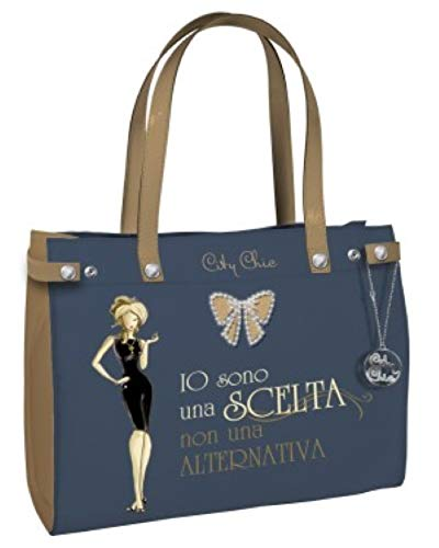 Biembi Borsa Donna - Shopping Bag Medium City Chic Collection