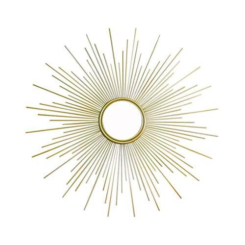 WGYDREAM Espejo de Baño Espejo Maquillaje Espejo Baño Decoración de Pared de Metal Porche Creativo Sala de Estar Colgante de Pared Decoración de Gafas de Sol (Size : 50cm)