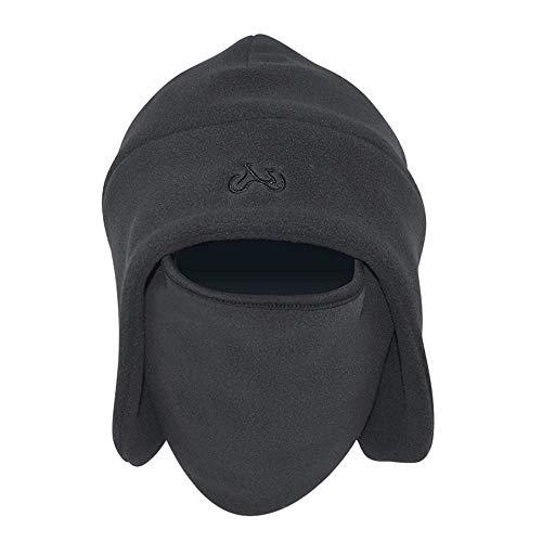 KPPONG Winter Essential Verdicken Warm Warmer Tactical Heavyweight Balaclava Outdoor Sport Maske Reitmütze Mütze Rot