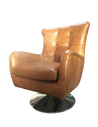 KAWOLA Sessel Relexa Ledersessel Cognac Chefsessel Leder Vintage Sessel Einsitzer Echtleder B/H/T: 69x77x95cm
