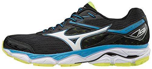 Mizuno Wave Ultima, Zapatillas de Running para Hombre, Multicolor (Greengecko/Vibrantorange/Black), 42 EU