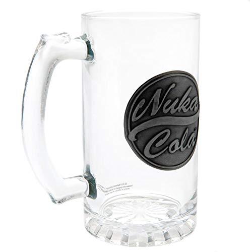 Fallout - Jarra de cerveza de cristal Nuka Cola (Estándar) (Transparente)