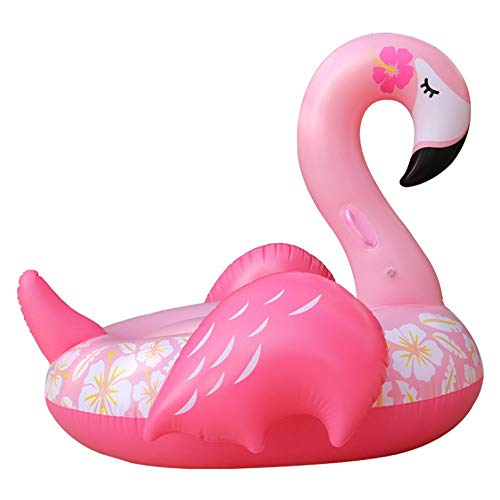YUHT Pool Float Hochwertige Pool Floating Toy Sommer Pool Party Dornröschen Flamingo Floating Row Erwachsene Kinder Wasser Floating Bed Mounts Aufblasbare Badewanne