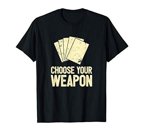 Poker Spieler Texas Hold'em Poker-Karten Spiel I Wähle T-Shirt