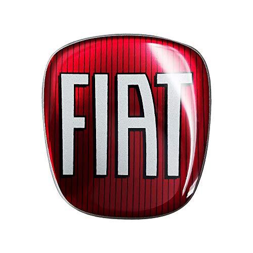 AMS 14214 Adesivo Fiat 3D Ricambio Logo per 500