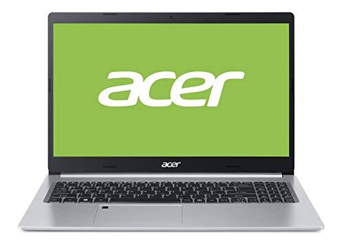 Acer Aspire 5 (A515-54G-59HB) 39,6 cm (15,6 Zoll Full-HD IPS matt) Multimedia Laptop (Intel Core i5-10210U, 8 GB RAM, 512 GB PCIe SSD, NVIDIA GeForce MX350, Win 10 Home) silber