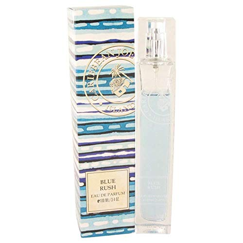 Blue Rush (Caribbean Joe) by Caribbean Joe Eau De Parfum Spray 3.4 oz