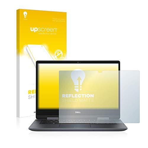 upscreen Entspiegelungs-Schutzfolie kompatibel mit Dell Inspiron 14 5482 – Anti-Reflex Bildschirmschutz-Folie Matt
