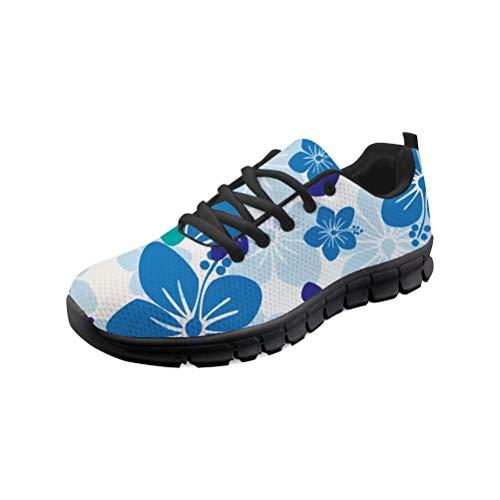 MODEGA Bunte Schuhe Turnschuhe Turnschuh Schnürsenkel blau-Bowling-Schuhe für Frauen große Breite Wanderschuhe Cricket-Schuhe für Männer heiße Schokolade Design Schuhe Frau Größe 41 EU 7 UK