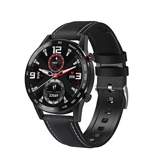 QNMB DT95 Bluetooth Call Smart Watch Monitor de Calor para Hombres 360 * 360 HD Pantalla IPS IP68 Deportes Impermeables SmartWatch,B