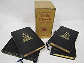 Saint Andrew Daily Missal; Volumes 1-4