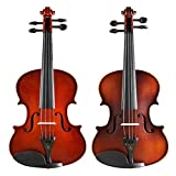 Yamyannie Violín Fengling violín Principiantes Manual de Examen Profesional Que Toca el violín Edad Tocar el Ingreso de niños Instrumento para Principiantes (Color : Photo Color)