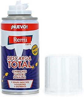 Remi Descarga Total Anti Chinches y pulgas Insecticida Chinches | Bomba Humo Insecticida | Aeroso...