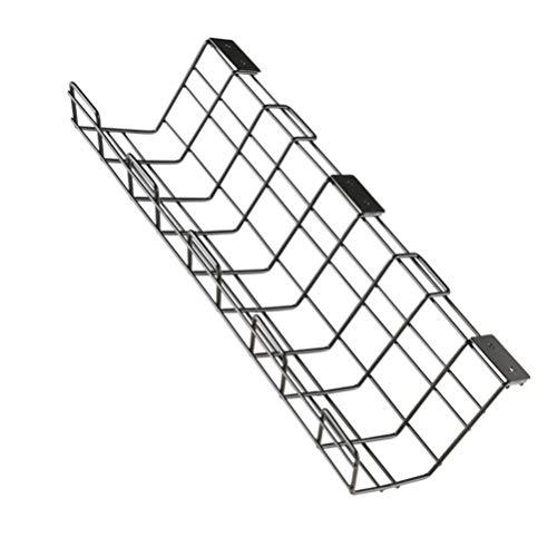 DOITOOL Bandeja de Gestión de Cables Bajo Escritorio-1 Organizador de Cables para...