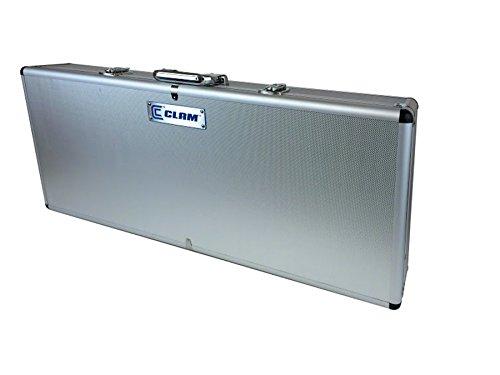 Clam Corporation 110155 Hard Sided Rod Locker 34'x14'x6' Aluminum