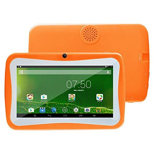 tablet PC para niños PC de 7 Pulgadas Máquina de Aprendizaje para niños con Funda de Silicona Soporte WiFi Android PC